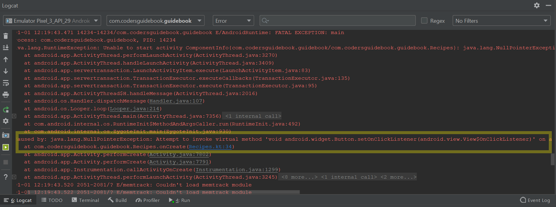 logcat-error-in-code.png